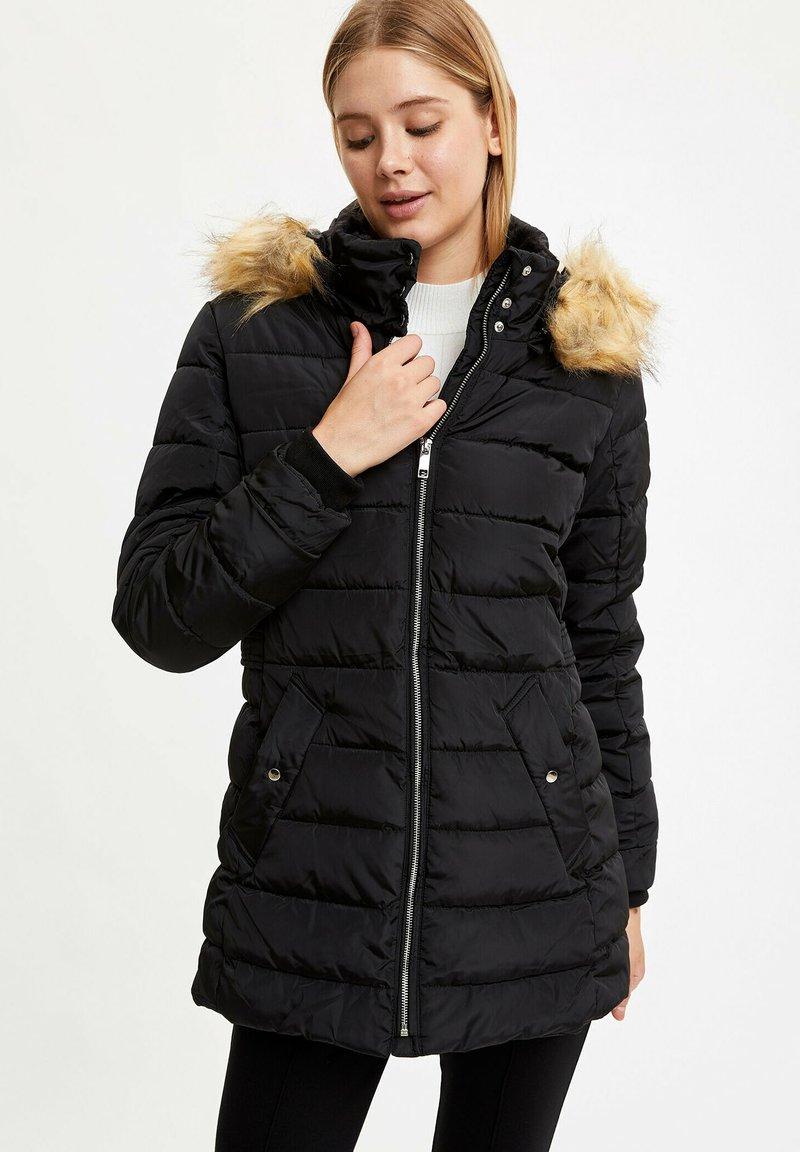 DeFacto - Winter coat - black