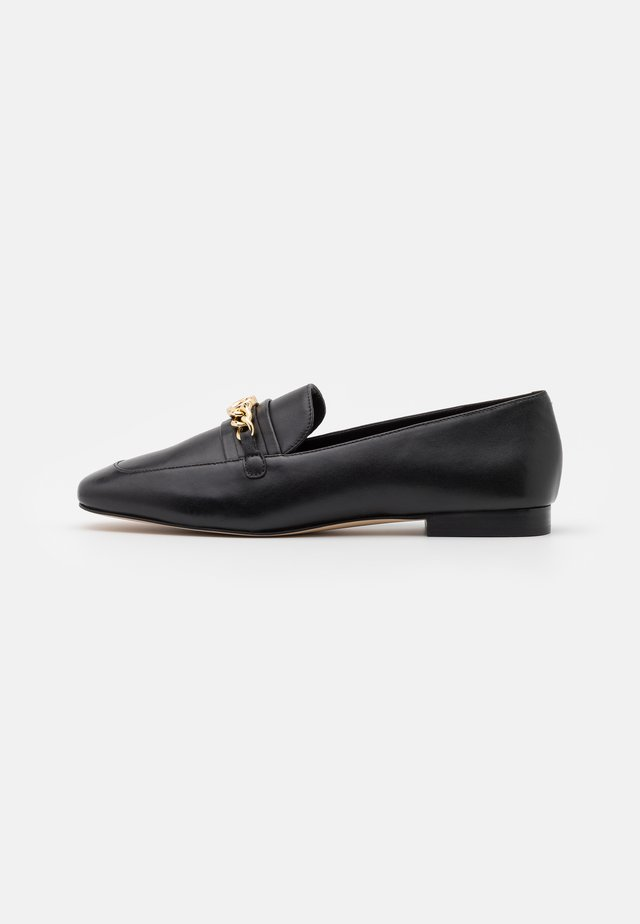 DOLORES LOAFER - Półbuty wsuwane - black