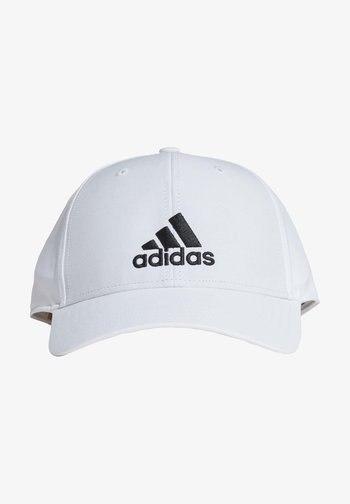 BASE LT EMBOSSED PRIMEGREEN SPORTS CAP - Lippalakki - white