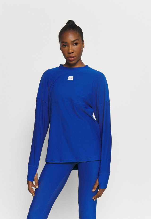 VENTURE  - Long sleeved top - nautic blue