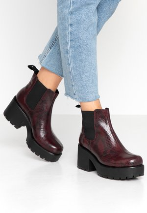DIOON - Ankle boots - wine