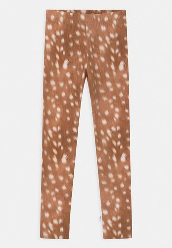 NIKI - Leggings - Trousers - brown/light brown