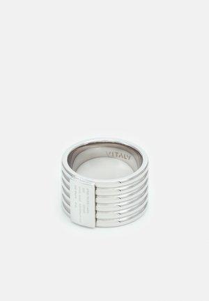 TURBINE UNISEX - Ring - silver-coloured