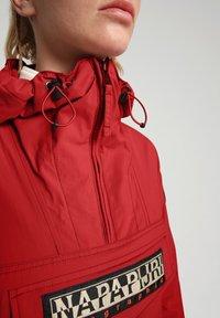 Napapijri - RAINFOREST SUMMER - Winter jacket - old red - 4