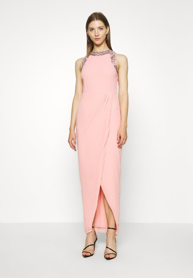 DUNIA WRAP MAXI - Robe de cocktail - taffy pink