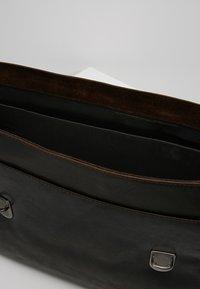 Strellson - CAMDEN - ANKTENTASCHE - Briefcase - dark brown - 4