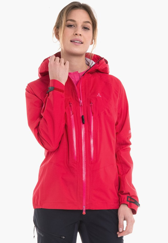 ALETSCH - Hardshell jacket - red