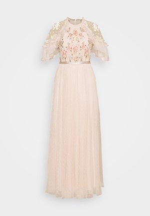 EMMA DITSY BODICE DRESS - Galajurk - strawberry icing