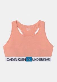 Calvin Klein Underwear - BRALETTE 2 PACK - Bustier - apricot pink/white - 2