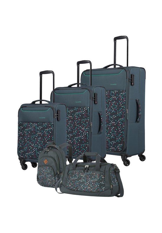 ARGON 4-ROLLEN KOFFERSET 5TLG. - Wheeled suitcase - pünktchen