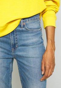 GAP - CIGARETTE KADUNA - Jeans straight leg - dark-blue denim - 3