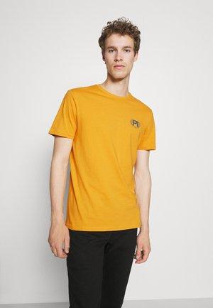 Print T-shirt - yellow