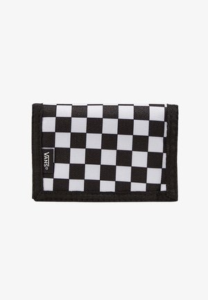 MN SLIPPED - Portefeuille - black-white check