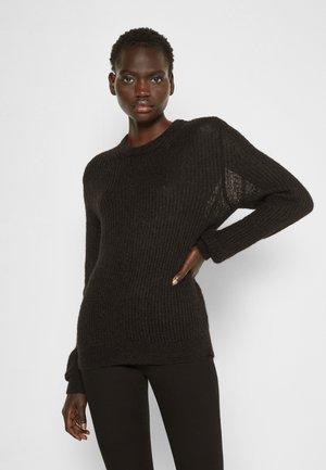 FELICIA - Stickad tröja - black