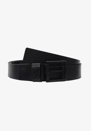 35MM SIGNATURE LOOP BELT - Pásek - black