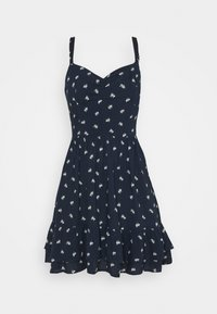 BARE SHORT DRESS - Day dress - navy