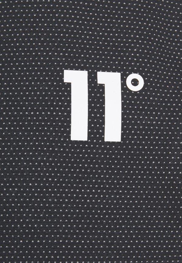 11 DEGREES DEJA VU JOGGERS REGULAR FIT - Spodnie treningowe - black/czarny Odzież Męska FTLL