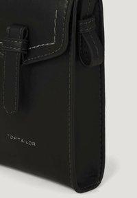 TOM TAILOR - Across body bag - schwarz / black - 2