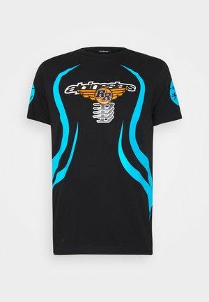ASTARS DIEGOS - T-shirt z nadrukiem - black