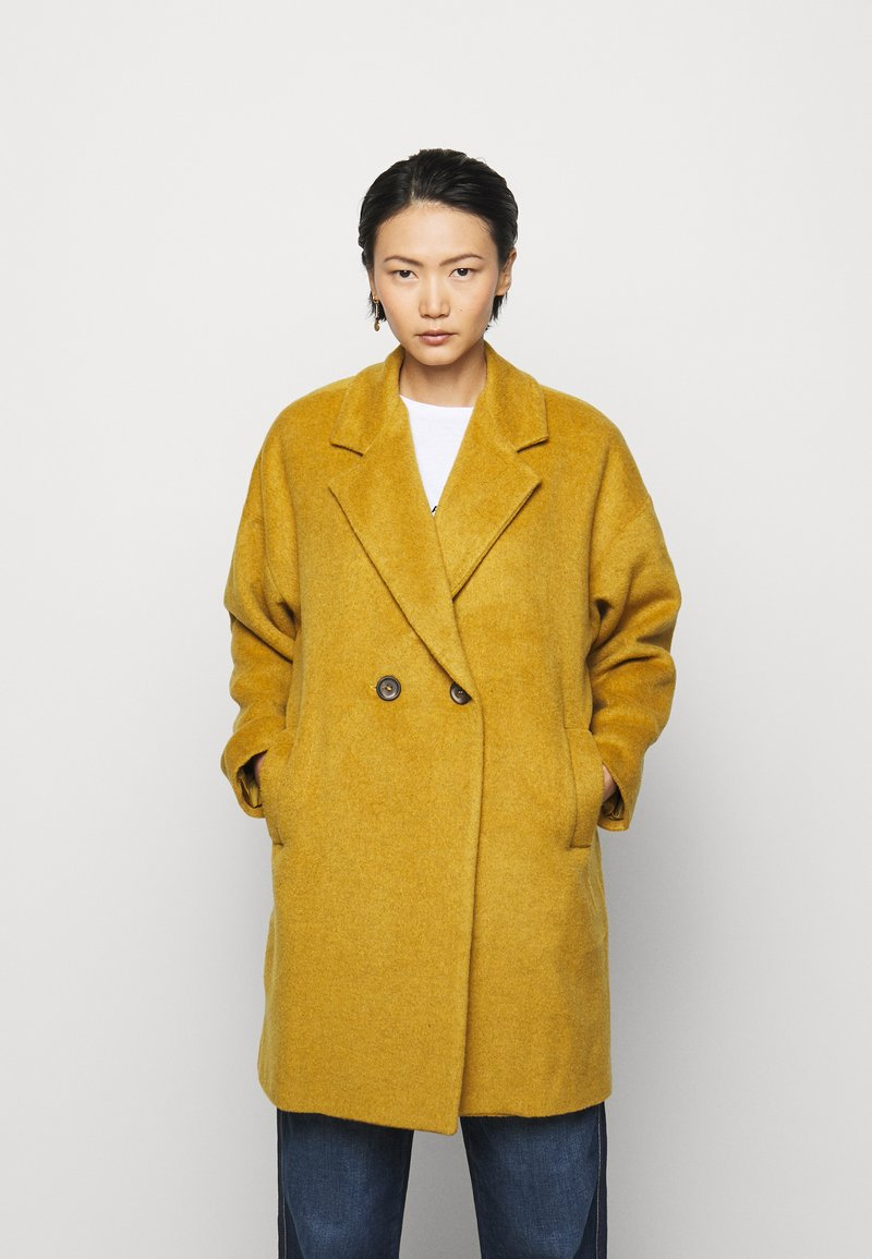 Progetto Quid - HOGART - Classic coat - yellow