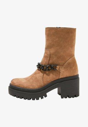Platform ankle boots - nb lemur umr