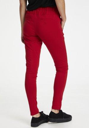 JILLIAN SOFIE  - Spodnie materiałowe - haute red