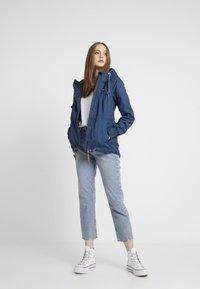 Ragwear - DANKA - Kort kåpe / frakk - blue - 1