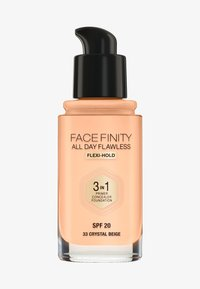 Max Factor - ALL DAY FLAWLESS 3 IN 1 FOUNDATION - Foundation - 33 crystal beige - 0