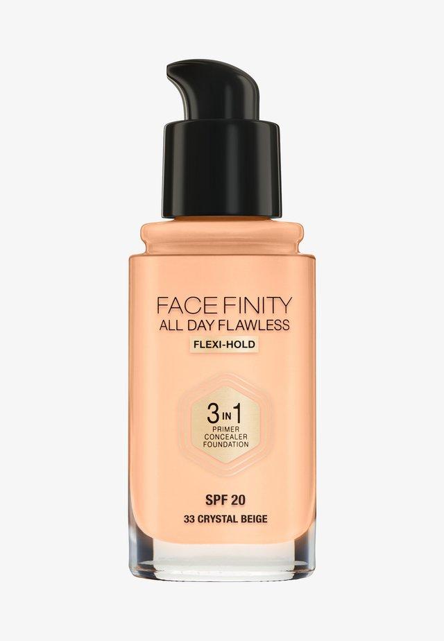ALL DAY FLAWLESS 3 IN 1 FOUNDATION - Fondotinta - 33 crystal beige