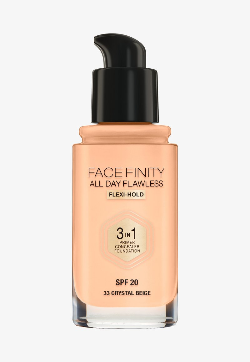 Max Factor - ALL DAY FLAWLESS 3 IN 1 FOUNDATION - Foundation - 33 crystal beige