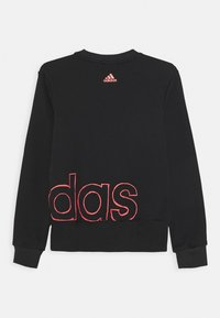 adidas Performance - LOGO CREW - Sweater - black/signal pink - 1