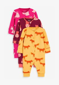 Next - 3 PACK  - Sleep suit - pink - 0