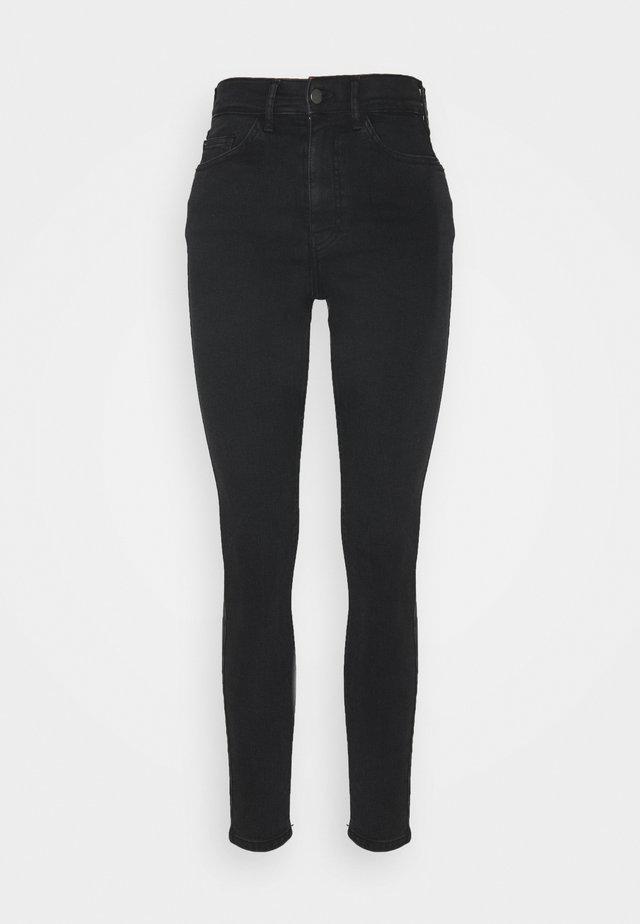 5 pocket Skinny high waist - Skinny-Farkut - grey denim