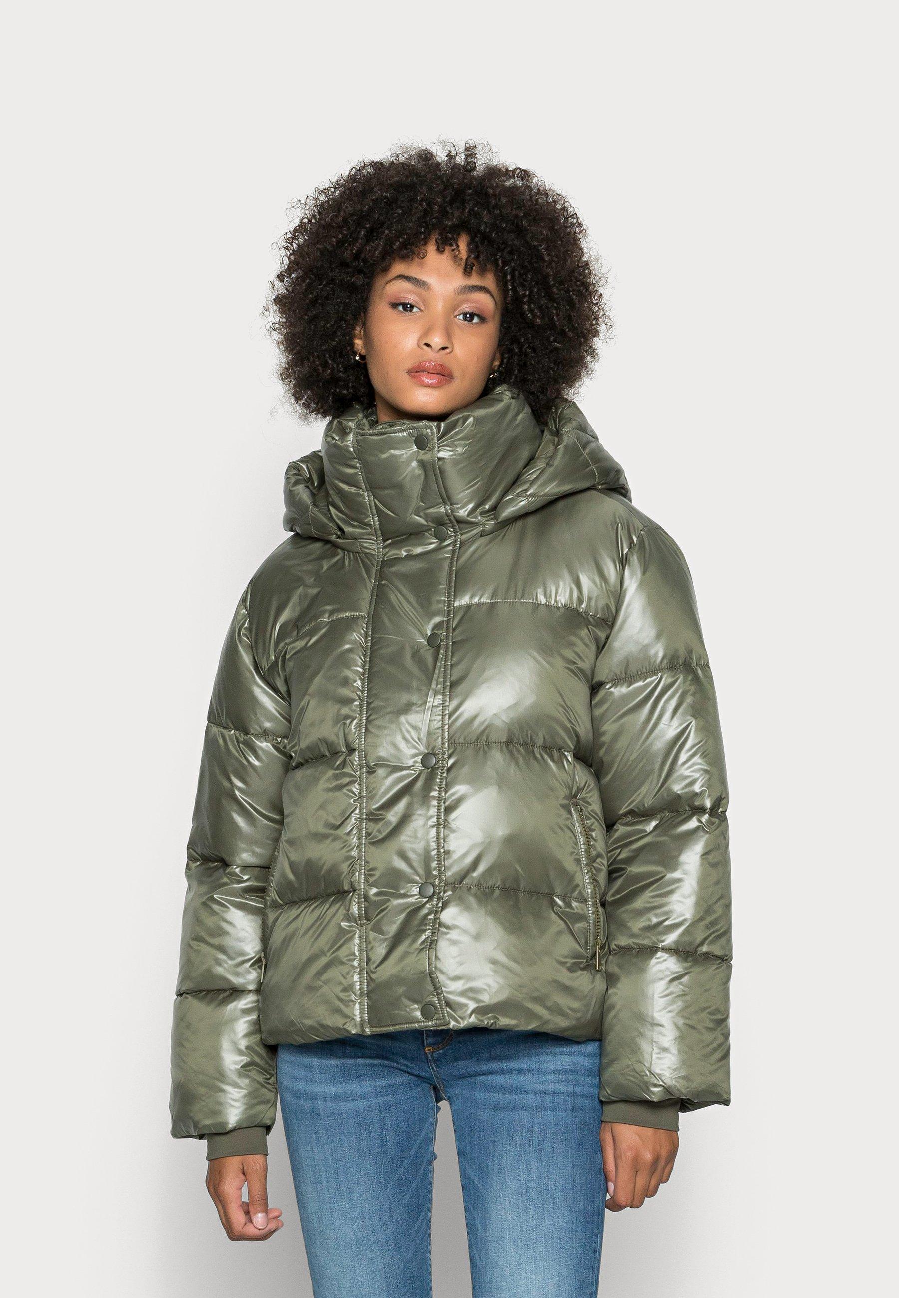 Women CROPPED PUFFER - Winter jacket