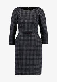 Lauren Ralph Lauren Petite - ESHE 3/4 CAP SLEEVE DAY DRESS - Fodralklänning - grey/black - 5