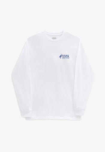 GOOD MOOD LS - Long sleeved top - white