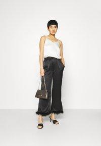 Résumé - BIA PANT - Pantalon classique - black - 1