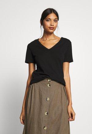 TEE - Basic T-shirt - noir