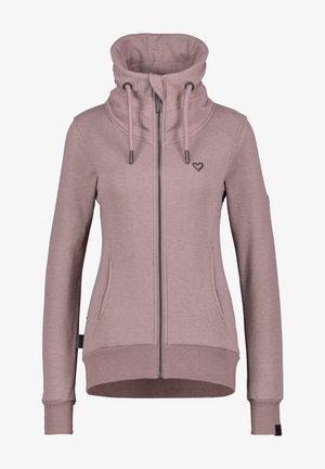 Zip-up hoodie - pale