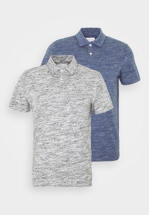 2 PACK - Polo - light grey/light blue