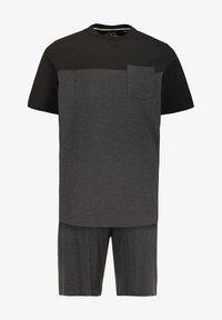 JP1880 - Pyjamas - anthracite chiné - 1