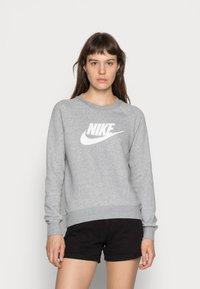 Nike Sportswear - CREW - Sweatshirt - grey heather/white - 0