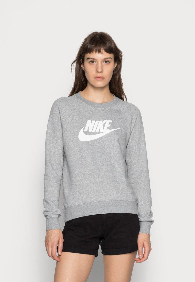 Nike Sportswear - CREW - Sweatshirt - grey heather/white