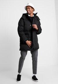 Calvin Klein - LONG LENGTH - Zimní kabát - black - 1