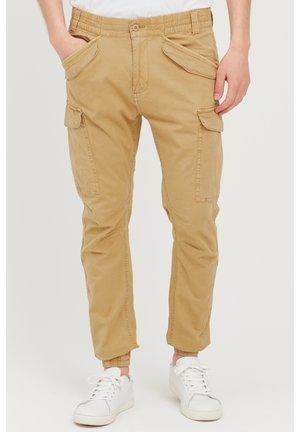 Cargo trousers - antelope