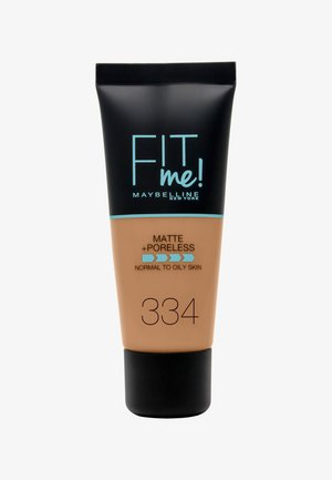 FIT ME MATTE & PORELESS MAKE-UP - Foundation - 334 warm tan