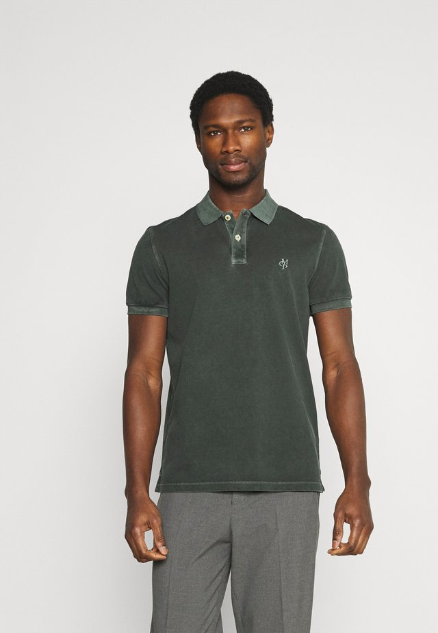 SHORT SLEEVE BUTTON - Polo shirt - mangrove