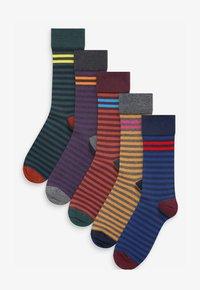 Next - 5 PACK - Socks - dark blue - 0