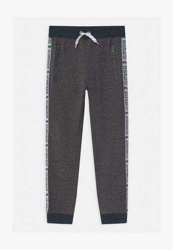 BOYS  - Spodnie treningowe - dark grey melange