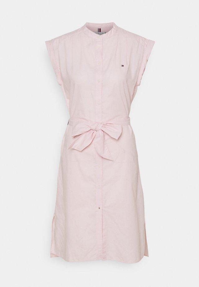 OXFORD KNEE DRESS  - Denní šaty - light pink